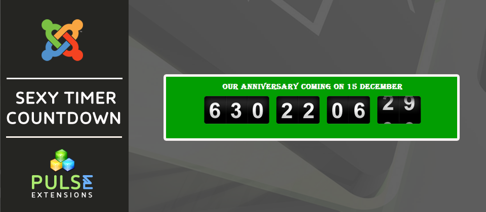 Sexy Countdown Timer